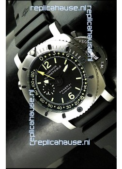 Panerai Luminor Submersible Swiss Automatic Watch in Black
