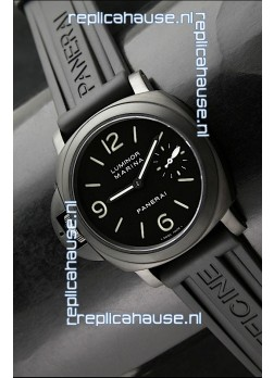 Panerai Luminor Marina Left Hand Wind PVD Swiss Watch
