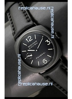 Panerai Radiomir Black Seal Swiss Watch in Ceramic Casing - 1:1 Mirror Replica