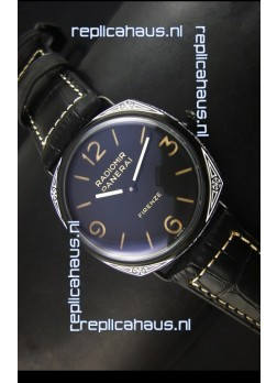 Panerai Radiomir PAM604 3 Days DLC Coated Swiss Watch with Unitas Movement