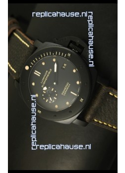 Panerai Luminor Submersible PAM508 DLC - 1:1 Ultimate Mirror Replica