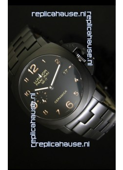 Panerai Luminor GMT PAM441 Ceramica Watch - DLC Coated Edition