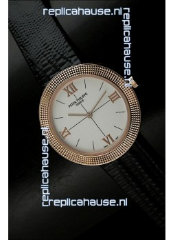 Patek Philippe Geneve Swiss Quartz in Rose Gold
