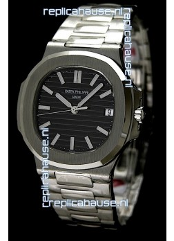 Patek Philippe Nautilis Jumbo Swiss Watch in Steel Casing