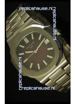 Patek Philippe Nautilus 5711 Jumbo Swiss Watch Burgundy - 1:1 Ultimate Mirror Replica