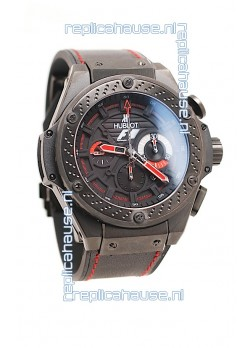 Hublot F1 King Power Zirconium Chronograph Limited Edition in Ceramic Case