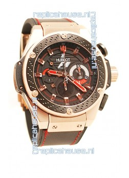Hublot F1 King Power Zirconium Chronograph Limited Edition watch in Pink Gold