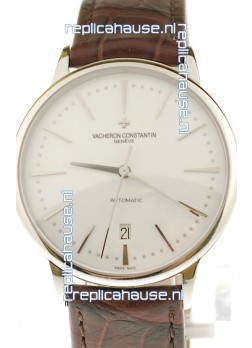 Vacheron Constantin Geneve Swiss Automatic Watch in White Dial