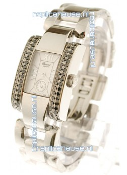 Chopard La Strada Swiss Ladies Swiss Watch in Silver Dial