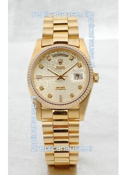 Rolex Day Date Gold Swiss Replica Watch