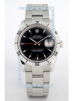 Rolex Datejust Turn O Graph Swiss Mens Watch