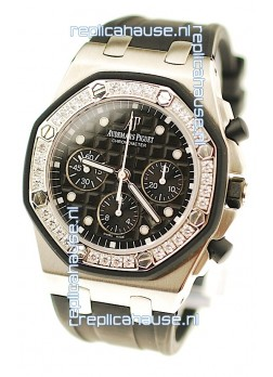 Audemars Piguet Royal Oak Offshore Alinghi Limited Edition Swiss Replica Watch in Diamond Bezel