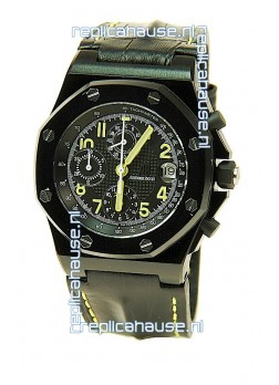 Audemars Piguet Royal Oak Offshore End of Days Swiss Watch in Black