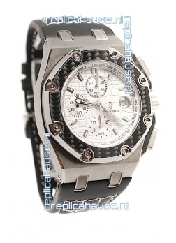 Audemars Piguet Royal Oak Offshore Juan Pablo Montoya Swiss Watch - Secs hands running at 12 O Clock