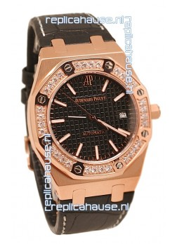 Audemars Piguet Royal Oak 18K Pink Gold Swiss Watch