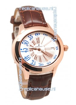Audemars Piguet Millenary Hour and Minute Swiss Replica Rose Gold Watch