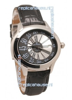 Audemars Piguet Millenary Hour and Minute Swiss Replica Steel Watch