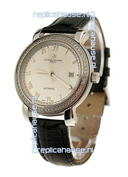 Vacheron Constantin Geneve Japanese Replica Watch in Roman Hour Markers