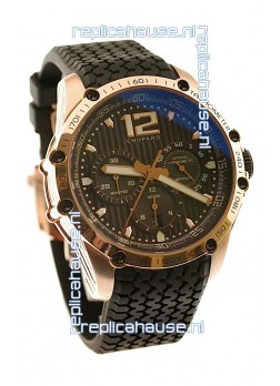 Chopard Classic Racing Superfast Swiss Replica Gold Watch