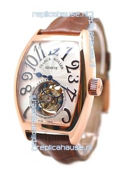 Franck Muller Aeternitas Tourbillon Swiss Replica Gold Watch