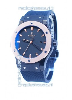 Hublot Classic Fusion Rose Gold Double Plated Bezel Watch