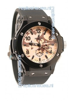 Hublot Big Bang Commando Beige Camouflage Japanese Watch