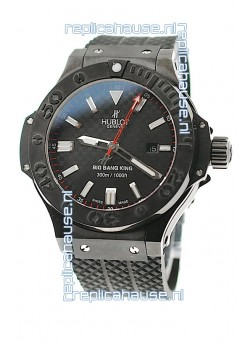Hublot Big Bang King Carbon Dial Watch in all Black