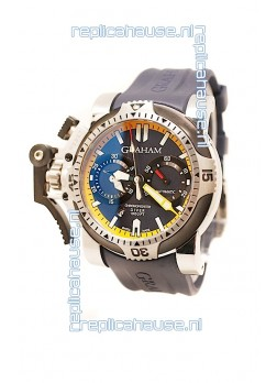 Graham Chronofighter Oversize Diver Swiss Watch