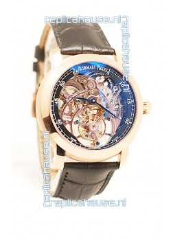 Audemars Piguet Jules Audemars Skeleton Minute Repeater Tourbillon Swiss Watch