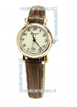 Patek Philippe Swiss Ladies Gold Watch
