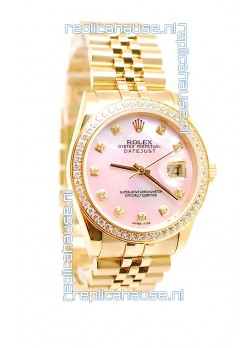 Rolex Datejust 2011 Edition Swiss Replica Gold Watch