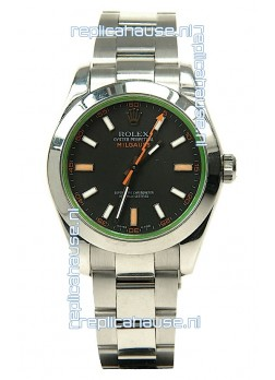 Rolex Milgauss Swiss Replica Watch - 40MM - 1:1 Mirror Replica