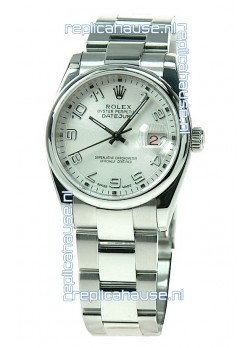 Rolex Datejust Swiss Replica Silver Watch