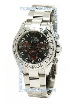 Rolex Daytona Cosmograph 2011 Edition Swiss Replica Watch in Black Dial