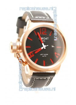 U-Boat Classico Japanese Gold Watch