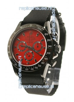 Rolex Daytona Cosmograph 2011 Edition Swiss Watch in Red Dial