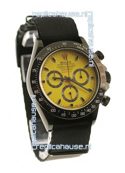 Rolex Daytona Cosmograph 2011 Edition Swiss Watch in Yellow Dial
