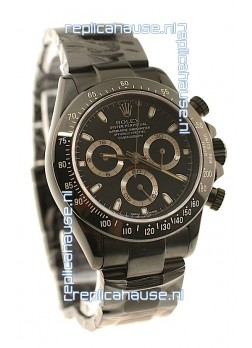 Rolex Daytona Cosmograph 2011 Edition Swiss Watch in Black
