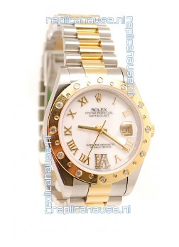 Rolex Datejust Mens Replica Two Tone Watch