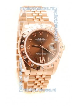 Rolex Datejust Gold  Replica Watch