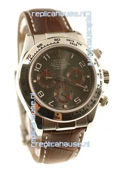 Rolex Daytona Cosmograph Swiss Replica Watch in Grey Dial