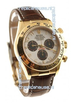 Rolex Daytona Cosmograph Swiss Replica Gold Plated Watch
