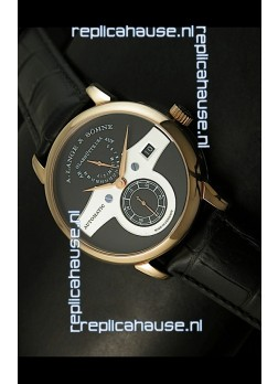 Alange Sohne Zeitwerk Edition Japanese Watch Black Dial