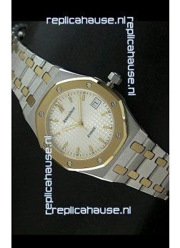 Audemars Piguet Royal Oak Swiss Watch Two Tone Gold/Steel Plating - MIRROR REPLICA
