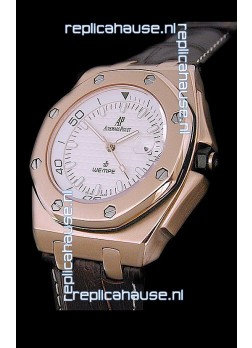 Audemars Piguet Royal Oak Scuba Wempe Swiss Watch in Gold