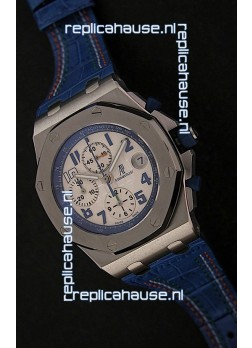 Audemars Piguet Royal Oak Offshore Sachin Tendulkar Swiss Watch - Secs hand at 12 O Clock