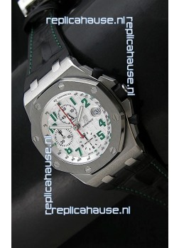 Audemars Piguet Royal Oak Offshore Pride of Mexico Swiss Watch - Secs hands at 12 O'Clock