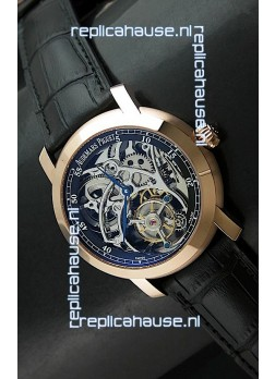 Audemars Piguet Jules Audemars Tourbillon Swiss Watch in Pink Gold