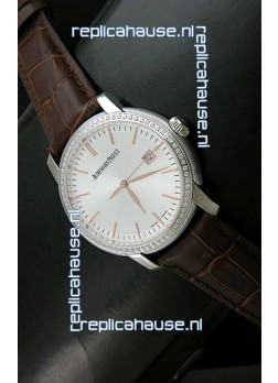 Audemars Piguet Jules Classic Swiss Automatic Watch in White Dial