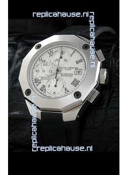 Baume & Mercier Riveria Swiss Watch in White Dial
